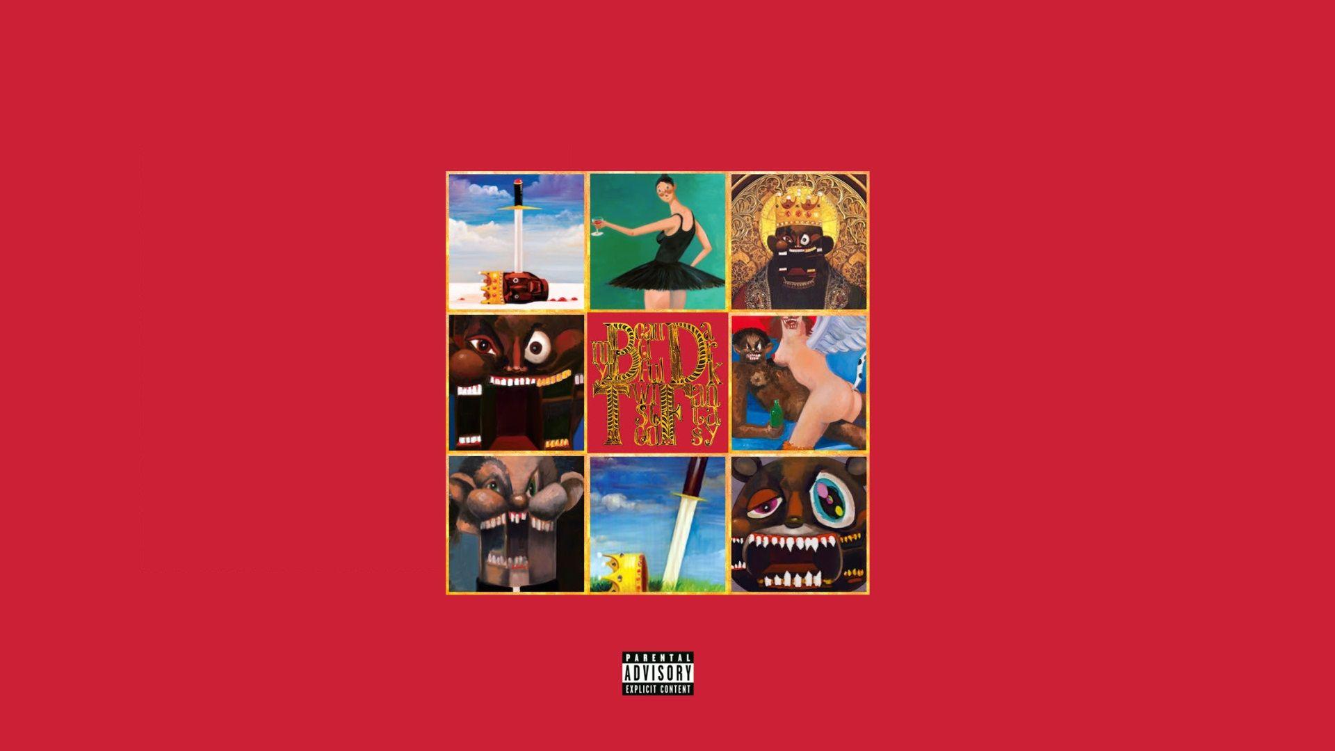 En 2010, Kanye West sortait : My Dark Twisted Fantasy
